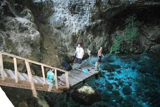 Punta Cana-tour naar Juanillo Beach en Hoyo Azul met all-inclusive bootcruise