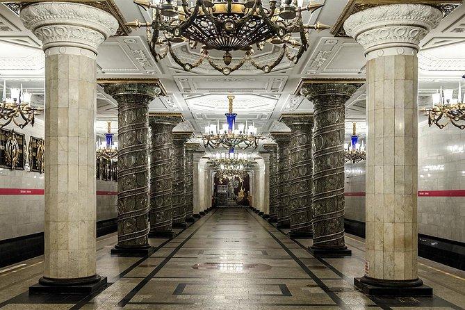 Tour por el Metro de San Petersburgo