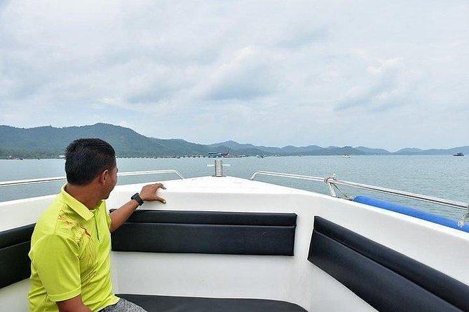 Koh Yao Yai to Phuket by Green Planet Speed Boat