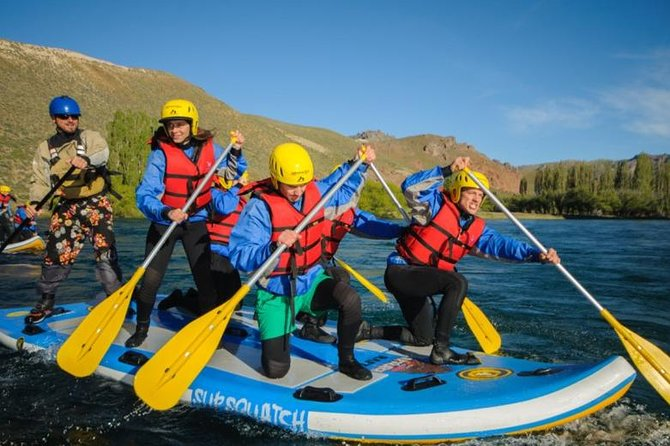Stand Up Rafting Limay Fluss von Bariloche
