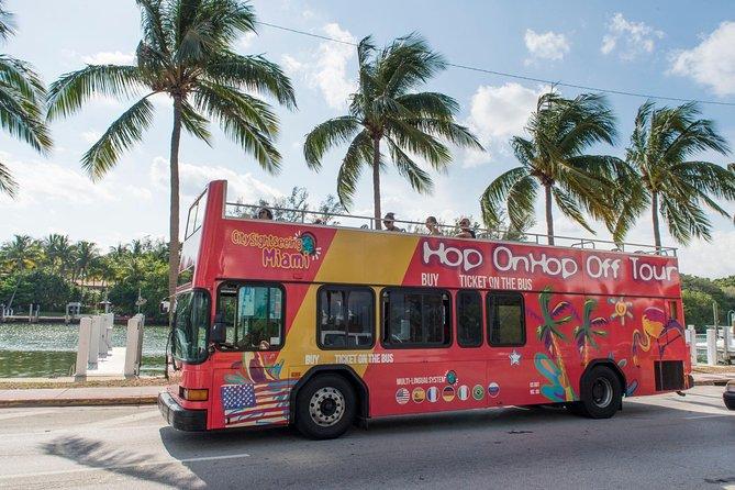 City Sightseeing Hop-on hop-off tour door Miami