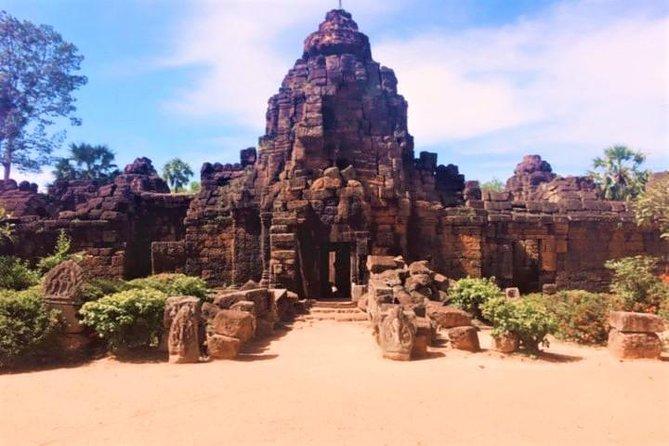 Temples de la province de Takeo et visite d'une journée du centre de la faune de Phnom Penh