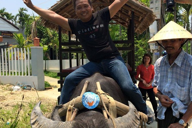 Countryside Water Buffalo Cart Ride of Cam Thanh Village