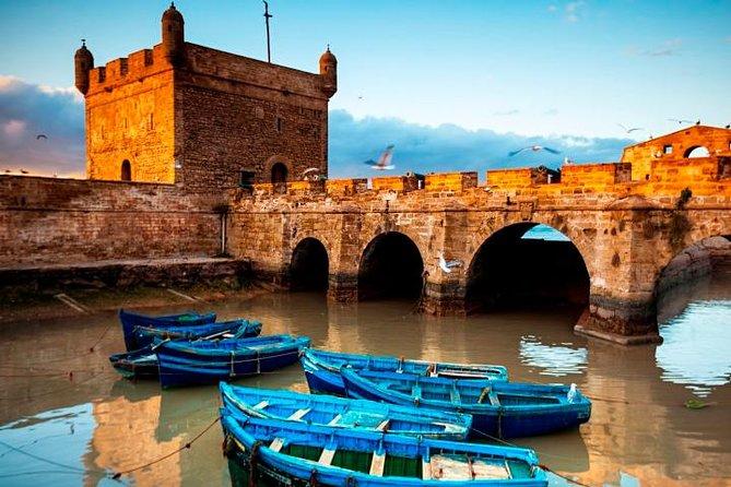 Privat Essaouira Mogador Fiskeri Port Dagstur fra Marrakech