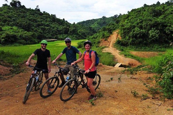 Halvdagers terrengsykling i Ngapali