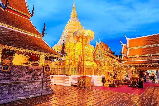 Doi Suthep Temple and Hmong Hill Tribe Village (Chiang Mai: pick up from Hotel)