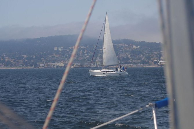 2-timers seilcruise i Monterey Bay
