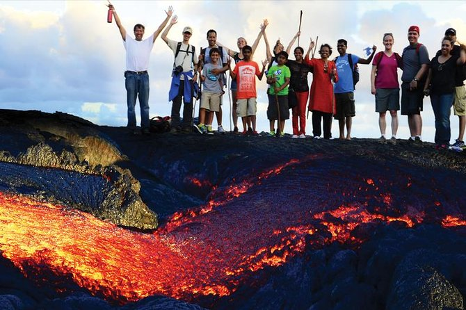 Hot Lava Hike To See Volcano Tour
