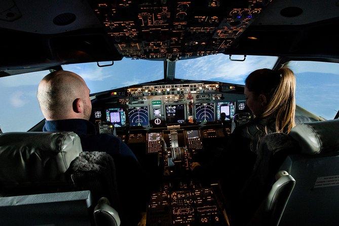 Simulatore di volo panoramico di un'ora