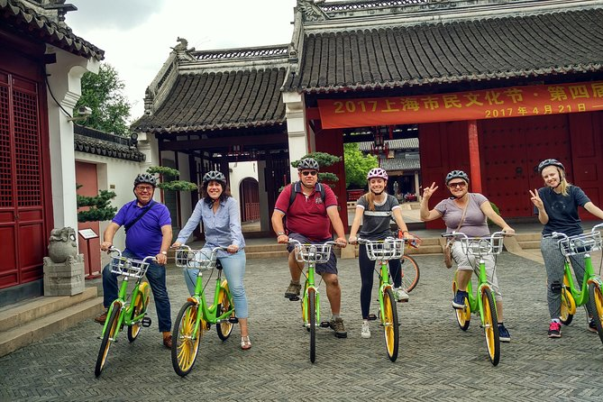 Backstreets of Old Shanghai Private Bike Tour