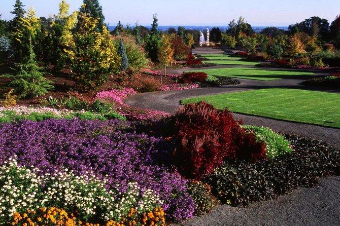 Cataratas, jardines y ruta del vino desde Portland