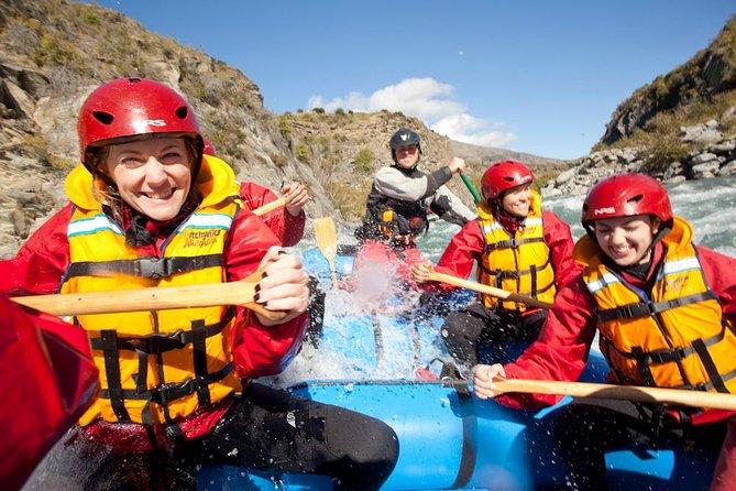 Queenstown Twin Challenge (Jet Boat Ride och White-Water Rafting)