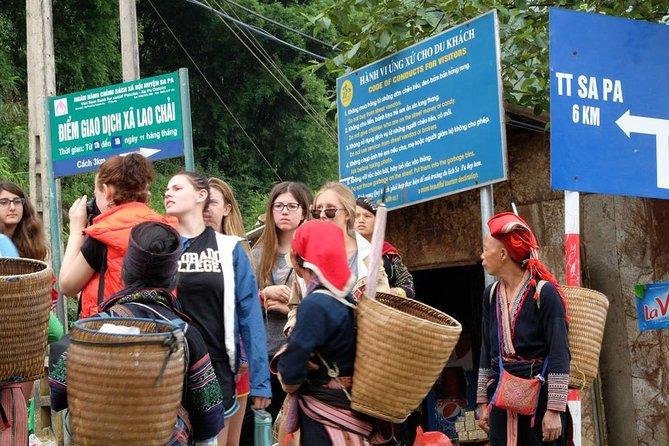 Tour guiado de un día al mercado Xin Cheng desde Sapa
