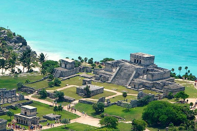 4x1 Tour: Tulum Ruins and Beach Break, Coba og Cenote