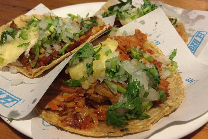 Tacos, Salsas and Mezcales in La Condesa in Mexico City