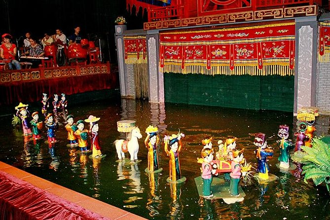 水上人形劇とディナー付きのハノイイブニングツアー