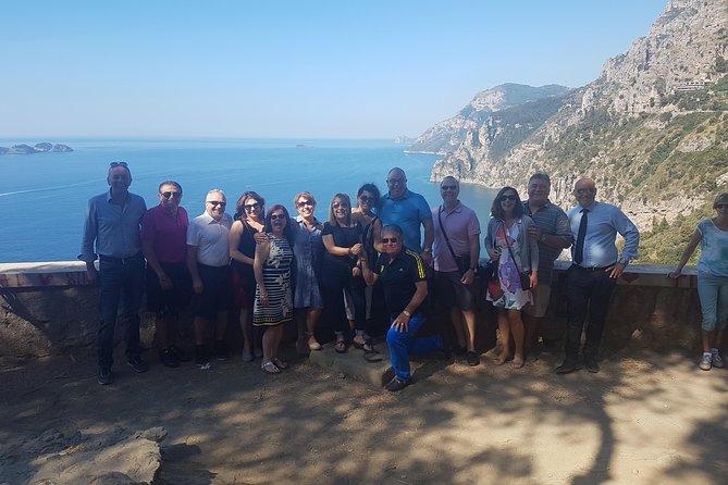 Positano Sorrento Pompei 1 to 3 people