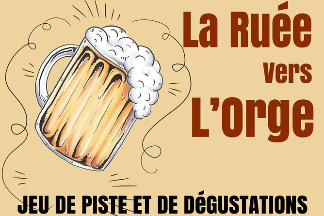 The rush for barley (beer rally)