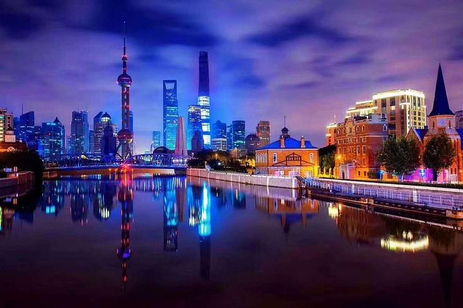 Huangpu River Night Cruise with Privater Transfer&Guide+Dumpling Meal Optional photo 2