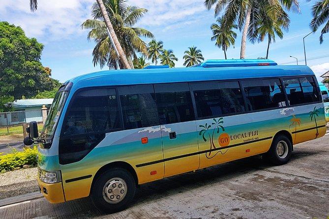 Shared Transfer (SIV) from Nadi Hotels/Denarau Hotels to Nadi Airport