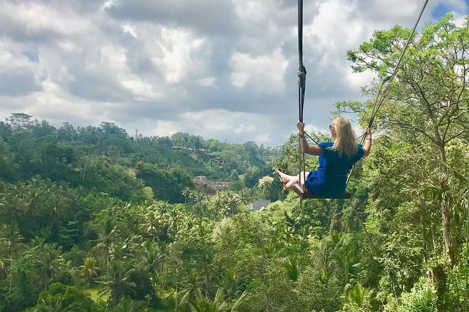 Private Tour: Bali Volcano sightseeing and Swing Experience