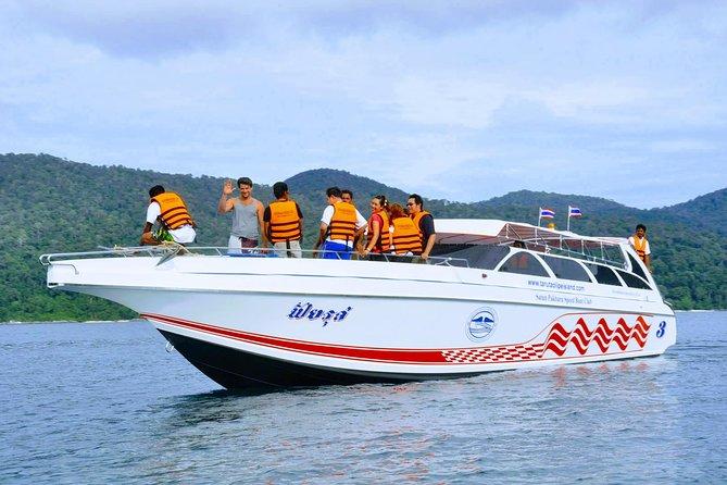 Koh Kradan to Koh Mook by Satun Pakbara Speed Boat