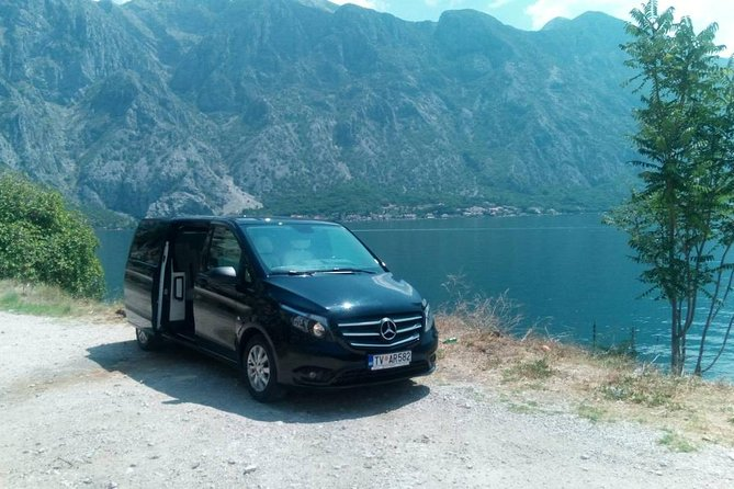 Private transfer from Budva to Dubrovnik airport
