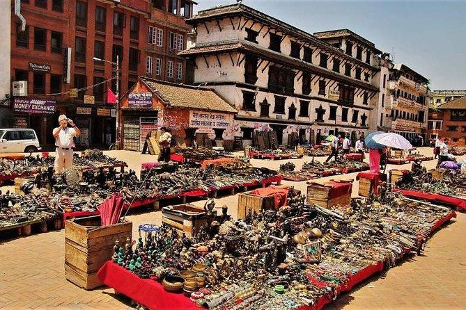 Basantpur Darbar Square Kathmandu, street shop for traveler