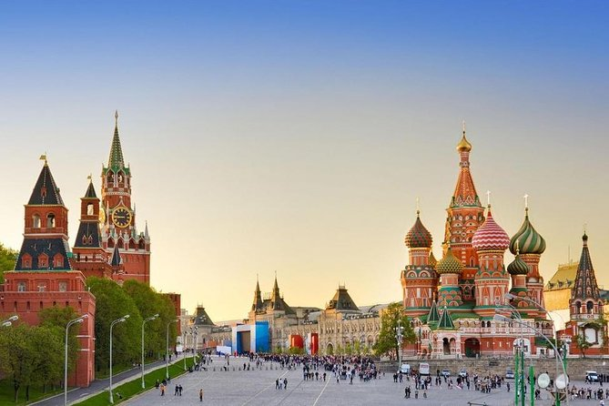 The Best of Central Moscow at a Glance: Red Square & Metro Stations Private Tour