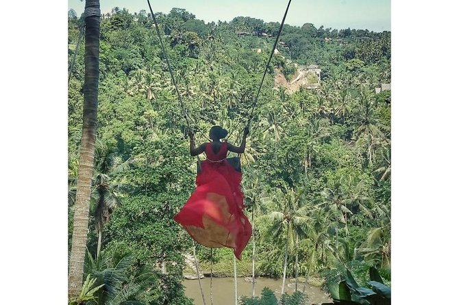 Best Of Tour Bali - Ubud Jungle Swing