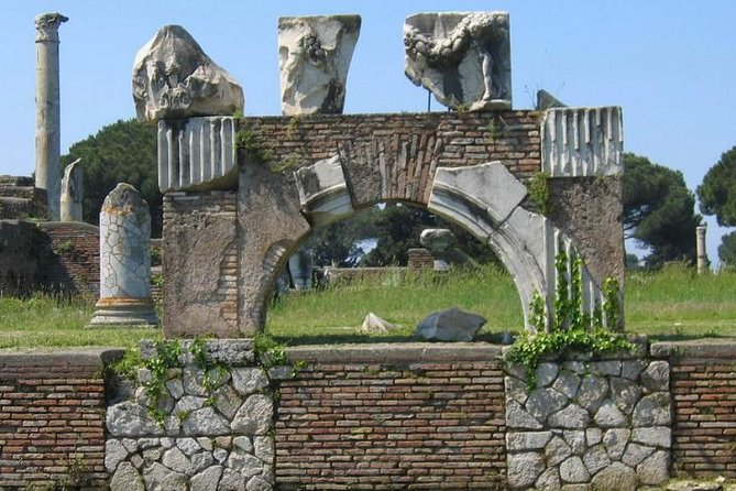 Ostia Antica with Driver and Tour Guide 4-hour Private Tour from Rome