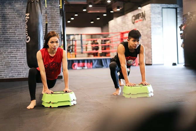 We provide weight training class