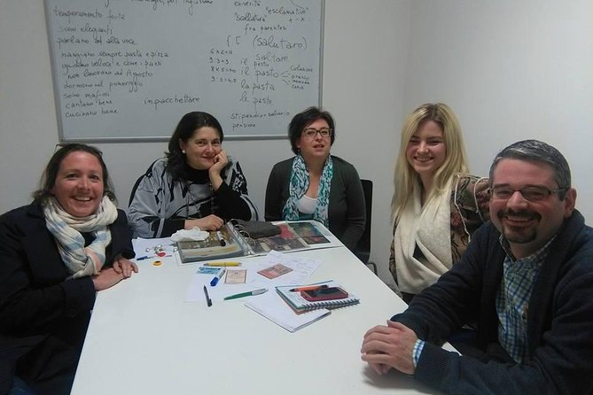 Group refresher course for teachers - Italian teaching