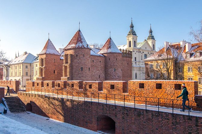 Warsaw Private Tour from Lodz with Lunch