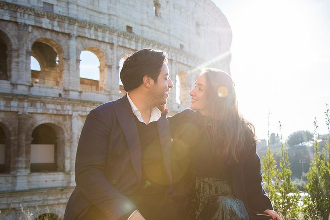 A frame of Rome: Personal photoshooting with historical anecdotes