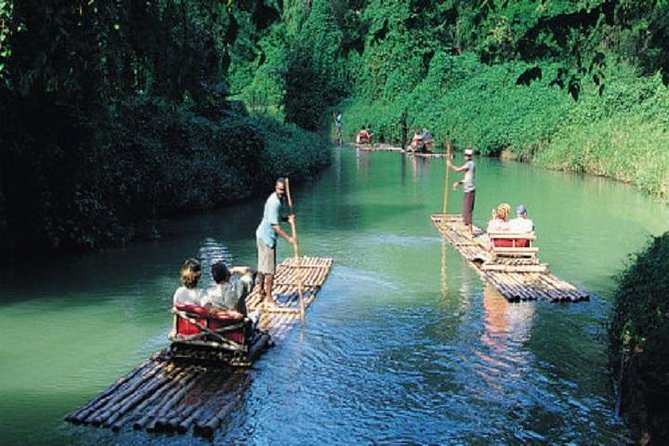 Bamboo Rafting Tour on The Martha Brae River from Montego Bay