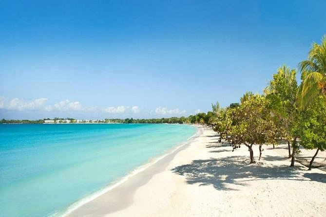 Negril Seven Mile Beach Round-Trip Shuttle Transportation from Montego Bay