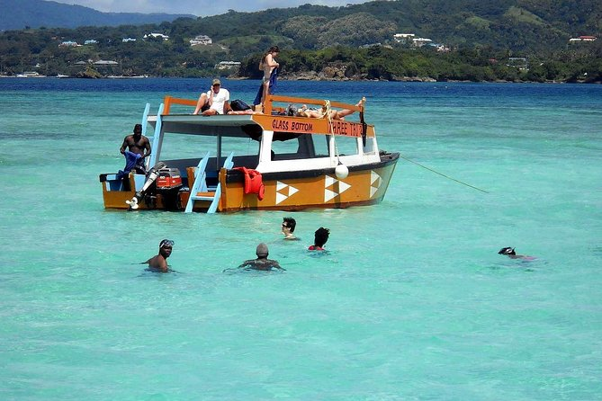 Tobago Buccoo Reef Glass Bottom Boat Tour
