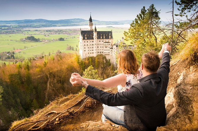Photo session castle Neuschwanstein