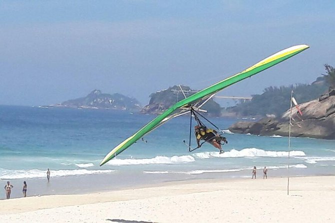 Fly ASA DELTA AND PARAPENT in Rio.