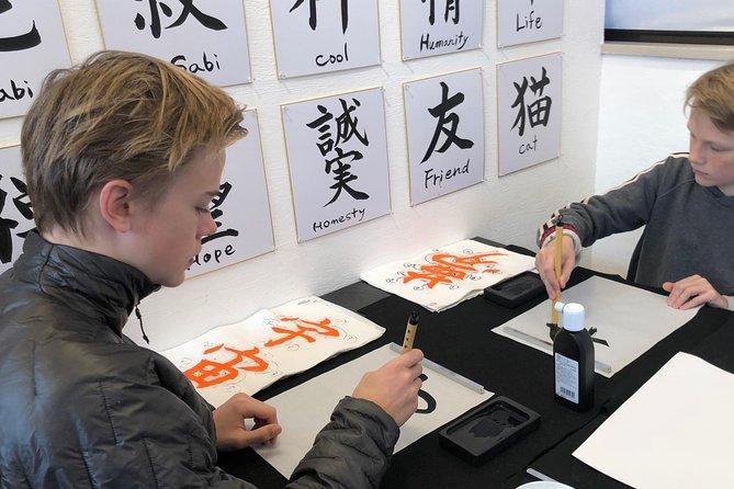 Let's experience calligraphy in YANAKA / Taito-ku / TOKYO !!