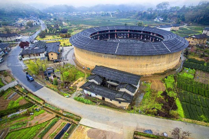 All Inclusive Fujian Hua'an Dadi Tulou and Tea Farm Private Day Tour
