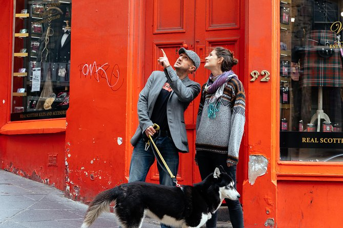 Withlocals 90 Minutes Kickstart: Covid-19 Regulated Edinburgh Private Tour