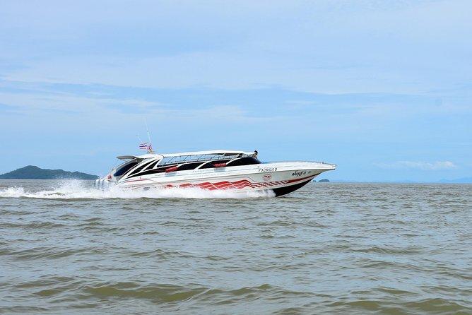 Koh Lanta to Koh Phi Phi by Satun Pakbara Speed Boat
