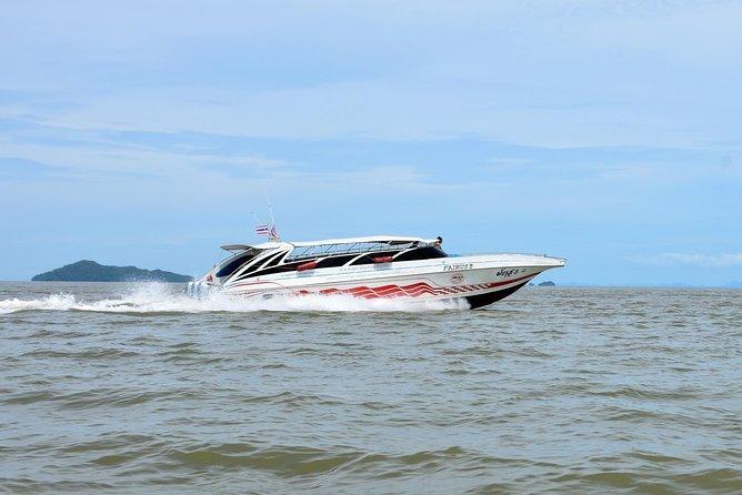 Koh Lanta nach Phuket mit dem Speedboot Satun Pakbara