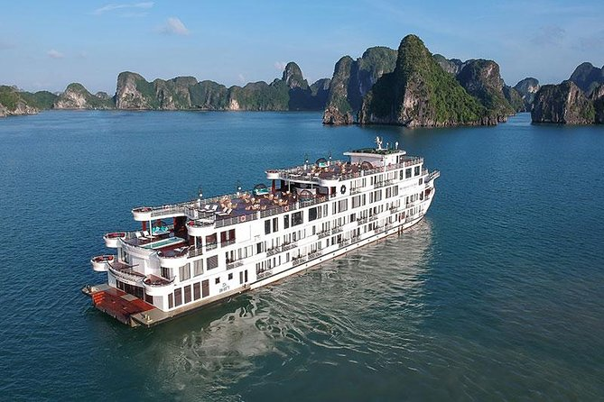 1 Night On Top-notch Service Cruise 5 Stars Ha Long Bay
