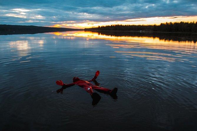 Aurora Floating in Rovaniemi