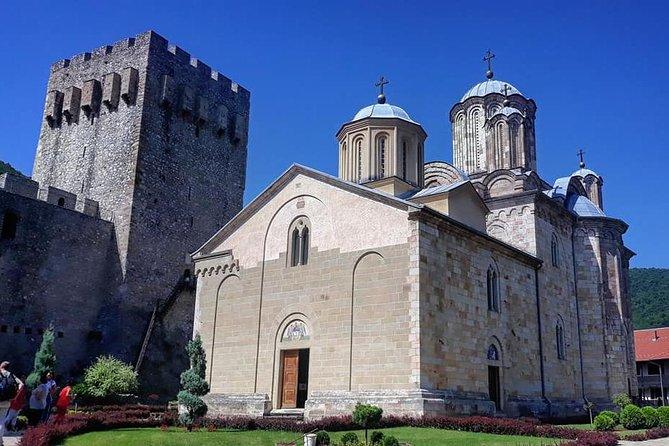 From Belgrade: Full-day Resava Cave & Medieval monasteries
