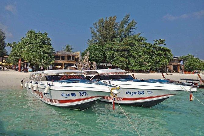 Koh Mook to Koh Bulone by Satun Pakbara Speed Boat
