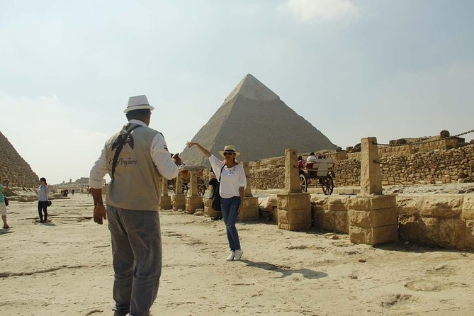 Giza Pyramids, Sphinx and Egyptian Museum